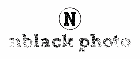 nblack photo logo